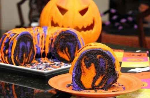 Ricetta per torta di halloween