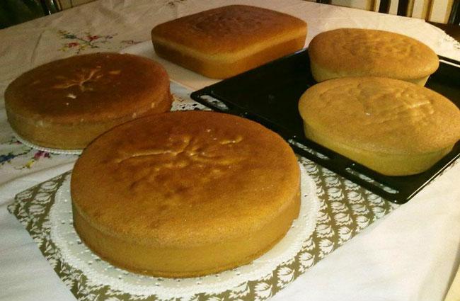 ... pan di pan di sorc per pan di spagna al farro 50 gr amido di mais